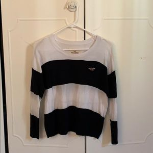 Hollister striped sweater